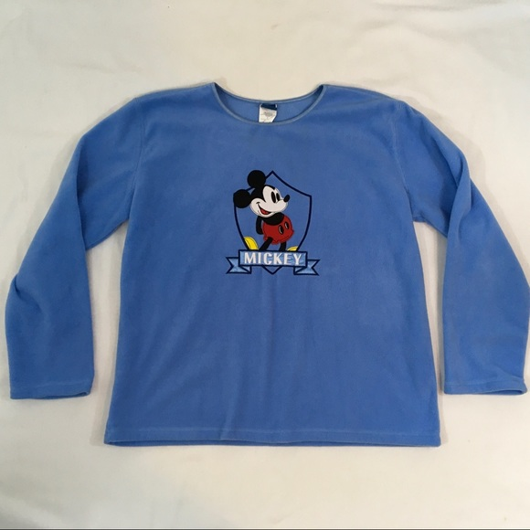 Disney Sweaters - Womens Large Mickey Mouse Sweater Blue Disney